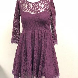 Free People laced dress